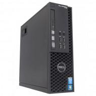 Workstation Dell Precision T1700 SFF, Intel Quad Core i7-4770 3.40GHz - 3.90GHz, 32GB DDR3, 240GB SSD, nVidia Quadro 600/1GB, DVD-RW Calculatoare
