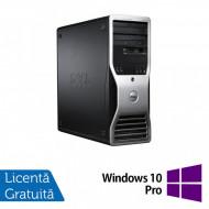 Workstation Dell Precision T3500, Xeon Quad Core W3530, 2.80Ghz - 3.06GHz, 12GB DDR3, HDD 1TB SATA, DVD-ROM, Nvidia Quadro 2000/1GB + Windows 10 Pro Calculatoare