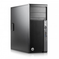 Workstation HP Z230 Tower, Intel Xeon Quad Core E3-1231 V3 3.40 - 3.80GHz, 12GB DDR3, 2TB SATA, DVD-RW, AMD FirePro V4800/1GB/128bit Calculatoare