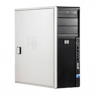WorkStation HP Z400, Intel Xeon Quad Core W3520 2.66GHz-2.93GHz, 12GB DDR3, 1TB SATA, Placa Video nVidia Quadro4000/2GB, DVD-RW Calculatoare