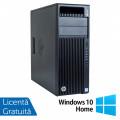 Workstation HP Z440, Intel Xeon Quad Core E5-1620 V3 3.50GHz - 3.60GHz, 16GB DDR4 ECC, 256GB SDD + 4TB HDD, nVidia Quadro K2200/4GB GDDR5 + Windows 10 Home