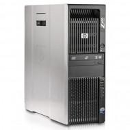 Workstation HP Z600, 1 x Intel Xeon Quad Core E5620 2.40GHz-2.66GHz, 8GB DDR3 ECC, 500GB SATA, DVD-ROM, Placa video Gaming AMD Radeon R7 350 4GB GDDR5 128-Bit Calculatoare