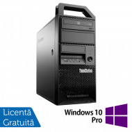Workstation Lenovo ThinkStation E31 Tower, Intel Core i7-3770 3.40GHz-3.90GHz, 24GB DDR3, 240GB SSD + 2TB HDD, nVidia Quadro 4000/2GB + Windows 10 Pro Calculatoare