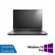 Laptop Lenovo ThinkPad X1 CARBON, Intel Core i5-4200U 1.60GHz, 8GB DDR3, 180GB SSD, 14 Inch + Windows 10 Pro Laptopuri