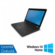 Laptop Dell Latitude E7250, Intel Core i7-5600U 2.60GHz, 8GB DDR3, 480GB SSD, 12 Inch + Windows 10 Home Laptopuri